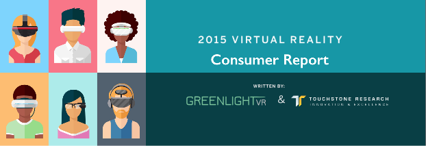 2015 Virtual Reality Consumer Report